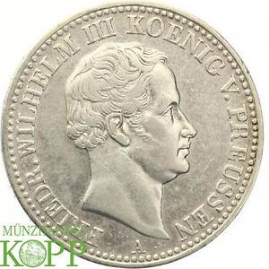 Aa2585 Brandenburg Preußen Ausbeutetaler 1834 A Friedrich Wilhelm