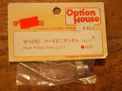 Kyosho Optima Mid Lazer Ultima Pro Slingshot Lumina F1 W-5092 22T Pinion