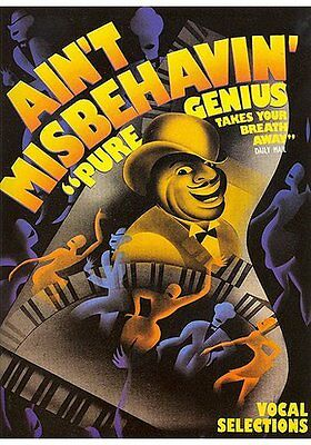 Ain't Misbehavin' To Rank First Among Similar Products Voix Fats Waller Well-Educated Partition Pour Guitare Piano