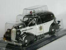 Buick Spesial 1936, Police car of California, USA 1:43rd scale by DeAgostini №32