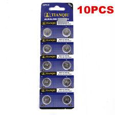 10 x AG13 LR44 SR44 L1154 357 A76 Alkaline Batteries Button Cells Watch Camera
