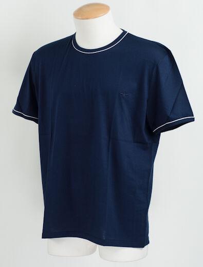 New Christian Dior  Blau Cotton T- Shirt Größe 52 EU  XL US L