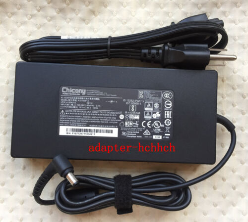 New Original OEM Chicony 150W 19V AC Adapter for Clevo P957HP6,A15-150P1A Laptop