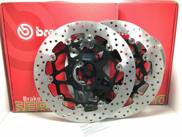 Pair Brake Discs Brembo Front Triumph 1050 Speed Triple Rs ABS 2018-2019