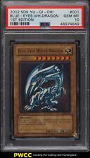 2002 Yu Gi Oh! SDK 1st Edition Blue Eyes White Dragon #SDK 001 PSA 10 GEM MINT