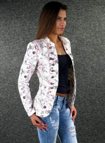 ZAZOU été Blazer S M L XL XXL Été Veste Flowers Jacket veste femmes z-02