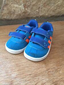 Details zu Adidas Schuhe Blau Orange Gr. 21