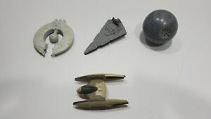 Star-Wars-Titanium-Die-Cast-Galoob-Micro-Machines-Ship-Lot-of-4-Star-Destroyer