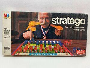 Stratego-von-MB-US-Orginalausgabe-Strategiespiel-Taktik-Brett-sehr-selten