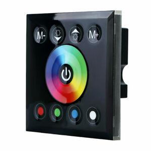 DC12-24V-Touch-Panel-Dimmer-Schalter-Controller-fuer-RGBW-Led-Streifen-Licht
