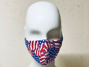 Handmade Stars Stripes Cotton Face Mask Filter Pocket Filters Washable Durable Ebay