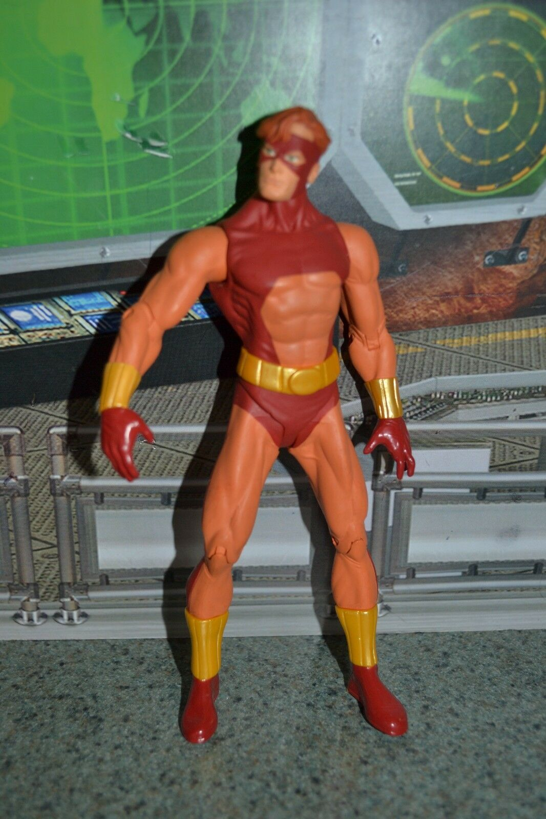 DC DIRECT  GEO FORCE Justice League of America: Series 3 action figure 6   loose