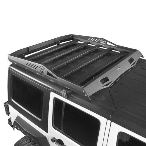 Second Half Roof Rack Baggage Carrier For Jeep Wrangler JK 07-18 4Door Hard-Top