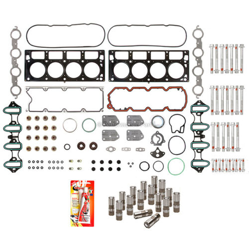 Head Gasket Set Bolts Lifters for 04-08 Chevrolet GMC Buick Cadillac OHV Non-AFM