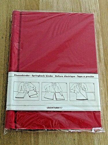 Mds Leuchtturm 1917  Peka Klemmbinder DIN A4 Format Farbe rot