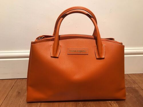 CARLO PAZOLINI ORANGE HAND BAG