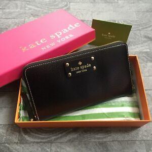 Kate Black Spade Neda Wellesley Purse Bnib Leather WfW4P