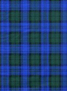 BLUE-amp-GREEN-TARTAN-PLAID-GIFT-TISSUE-PAPER-10-Sheets