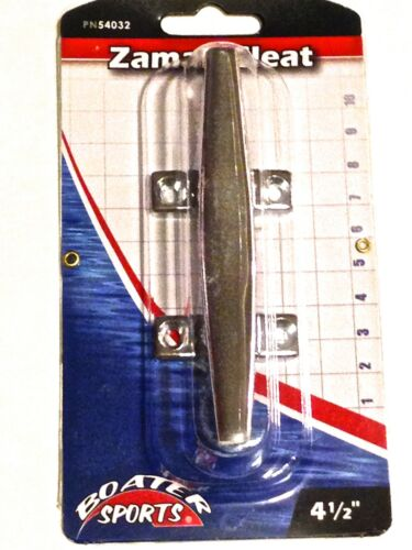 """BOATER SPORTS BRAND # 54032 CHROME OPEN BASE BOAT CLEAT 4 1//2/"""""""