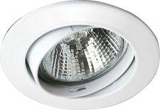 NV-Einbaubaustrahler Brumberg 2169.03 matt chrom schwenkbar GU5,3 Leuchte Lampe