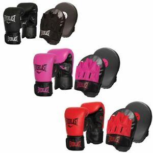 Everlast Tempo Bag /& Mit Boxing Glove Small//Medium Red