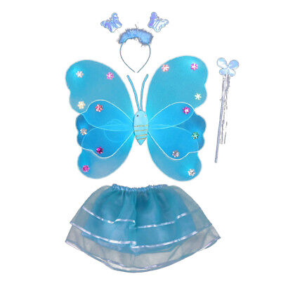For Halloween Cosplay --Charming Glowing Fairy Wings Costume Set
