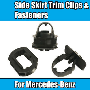 20x (20+20) Clips For Mercedes-Benz Side Skirt Plastic Clips Sill Trim Fasteners