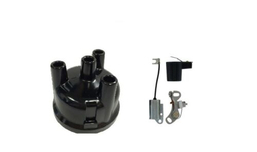 IGNITION KIT /& CAP 3 CYL FORD 2000 3000 4000 4600 4610 3610 540 555 TRACTOR