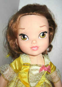 Details About Disney Store Princess Belle Toddler Doll Soft Body 15