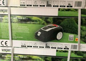 WINGART-Maehroboter-Gartenroboter-Robomaeher-034-MR-500-BT-034-Rasenmaeher-NEU-OVP-500qm
