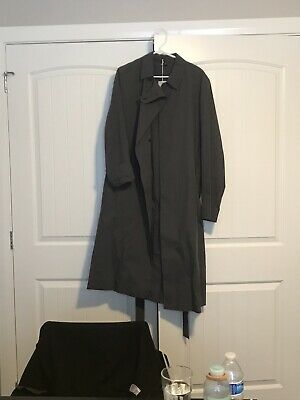 Plus Size Womens Cotton Trench Wear Cotton Loose Full Sleeve V Neck Coat Jacket
