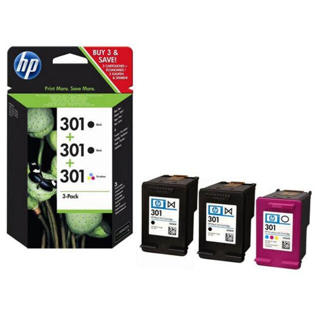MULTIPACK 3 CARTUCHOS HP - 2 X Nº301 NEGRO + 1 X Nº301 COLOR
