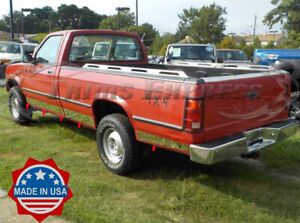 fit 1987 1996 dodge dakota regular cab long bed rocker panel trim 5 10pc ebay details about fit 1987 1996 dodge dakota regular cab long bed rocker panel trim 5 10pc
