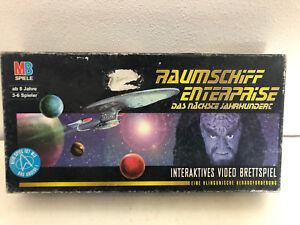Raumschiff-Enterprise-Video-Brettspiel-von-MB-Gesellschafts-Star-Trek-next-Gen