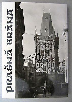 Lot Sammlung Leporello 10x Prasna Brana Praha Prag Tschechien Ungelaufen üBerlegene (In) QualitäT
