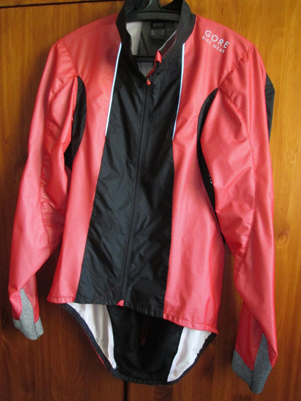 Größe S Gore Fahrrad Wear Xenon 2.0 Radfahren Laufen WindStopper Jacket, Full Zipp