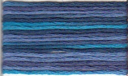 Anchor Stick Twist 6 fädig 8 m 100/% algodón multicolor 1349