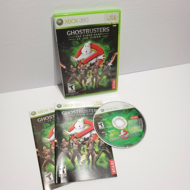 Ghostbusters The Video Game (Microsoft Xbox 360) COMPLETE - WORKING