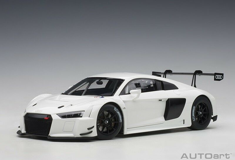 81602 audi r8 FIA Plain Body Version (blanc) (Composite Model 2 1 18 AUTOart