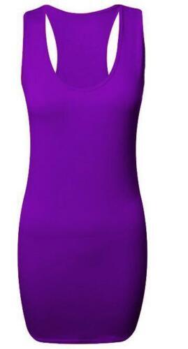 NUOVI Sandali Donna Racer Muscolo Indietro Corpo-con sotto Top Camicia Canotta Da Palestra Yoga più 8-26