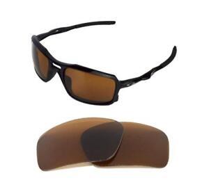Nouveau polarisé de rechange bronze lentille pour OAKLEY