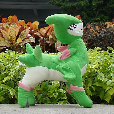 "Pokemon Go Plush Toy Virizion 12"" Nintendo Game Cuddly Soft Stuffed Animal Doll"