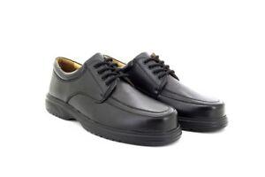 occhielli leggeri scarpe Leather Mudguard nero Tie M706 Roamers Leathe casual 4 6aqXCw