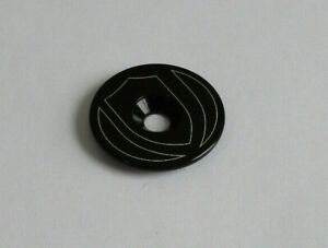 """Cervelo Matte Black Insert Top Cap Stem Head Headset Plug for 1 1//8/"""" Tube Fork"""