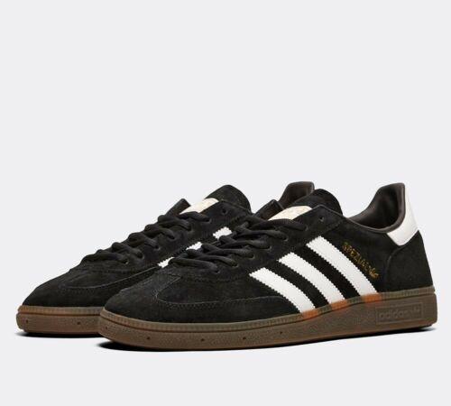 Mens Adidas Originals Handball Spezial Trainers Black/white Db3021 Uk 6.5_7.5