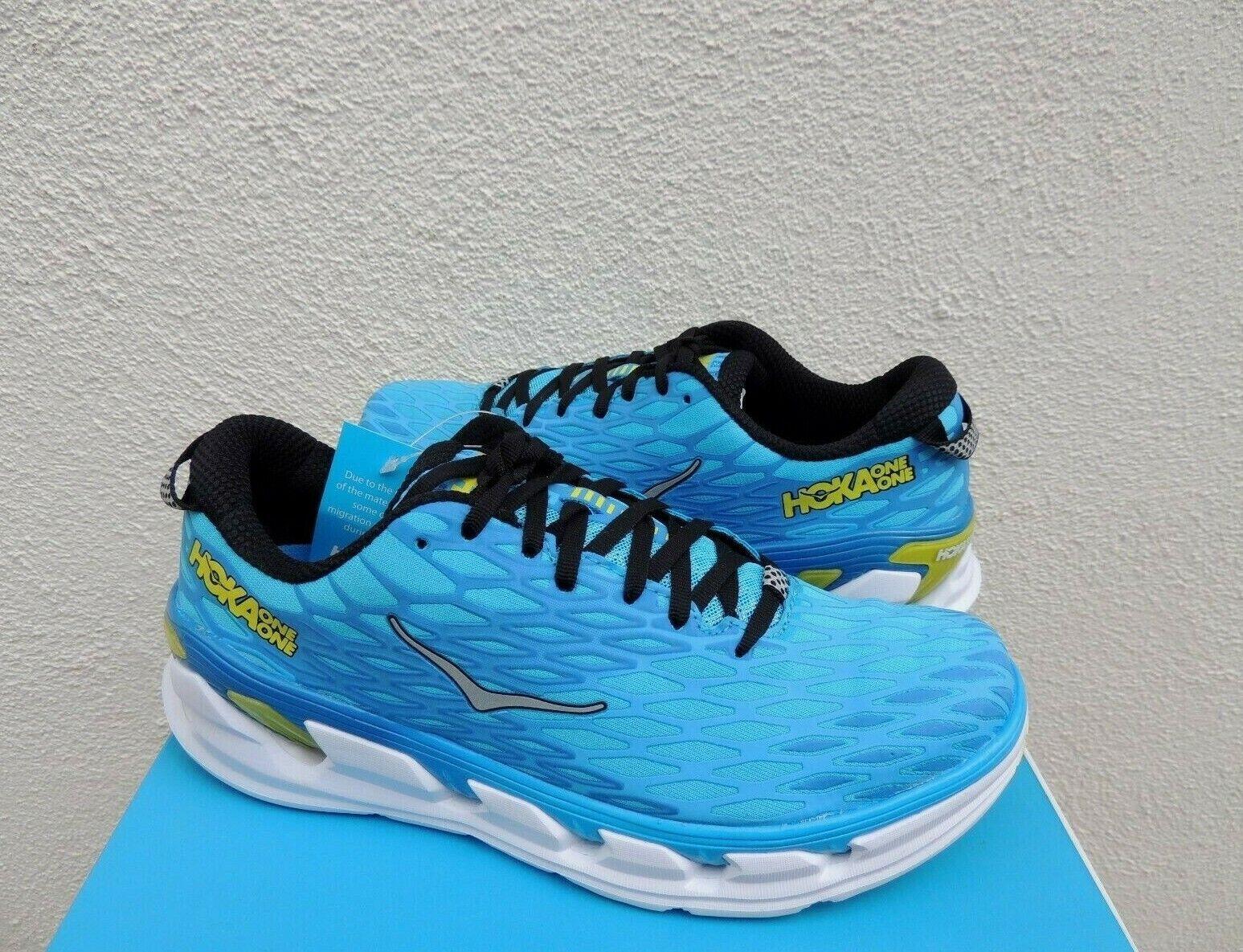 HOKA VANQUISH 2 Cian cítricos ONE ONE zapatos para correr, Hombres EE. UU. 8 41 1 3 euros  Nuevo En Caja