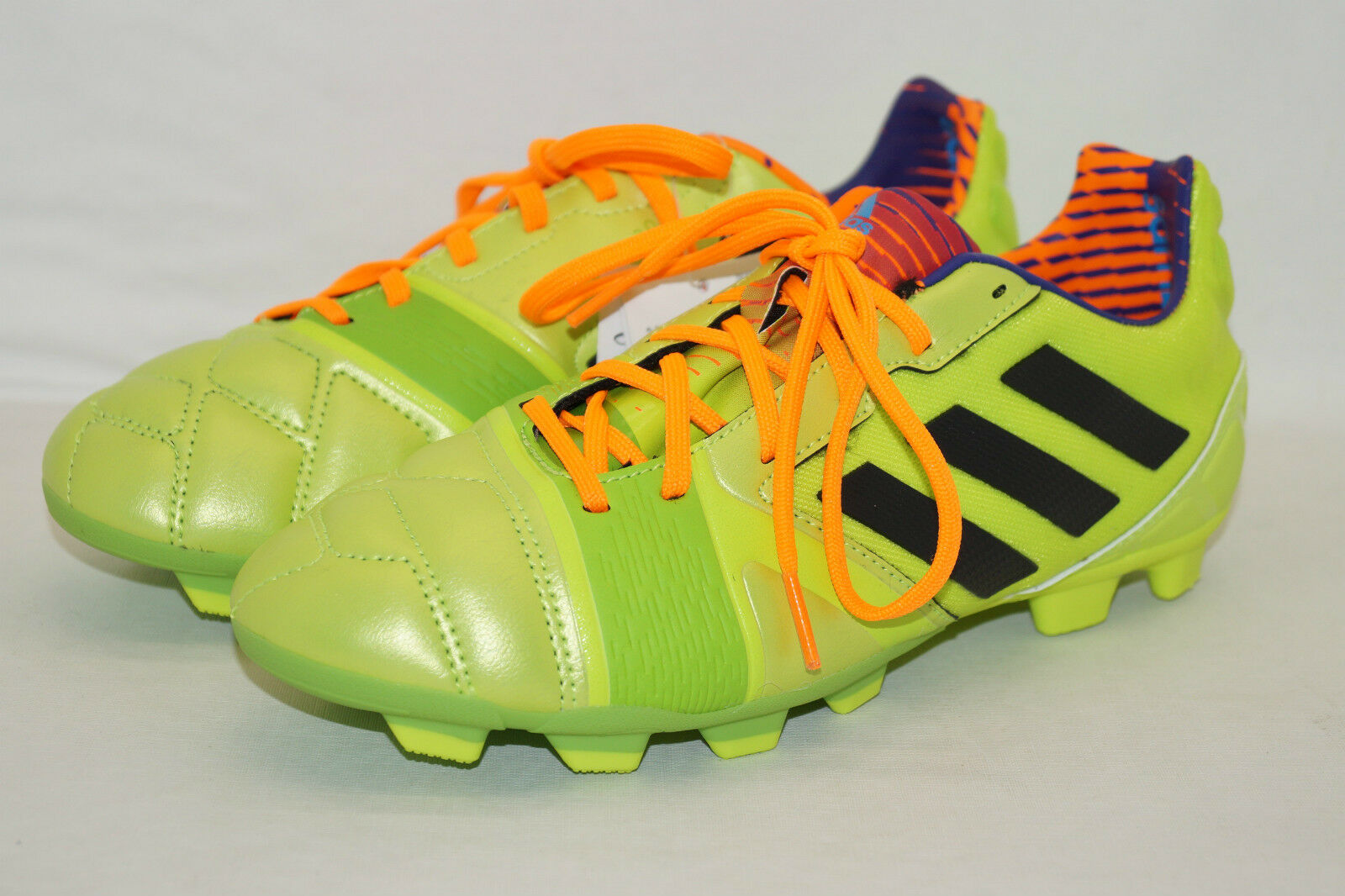 Adidas nitrocharge 2.0 TRX FG J green Gr.38 2 3UK.5,5 Fussballschuhe Neu