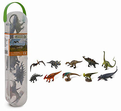 CollectA A1101 Mini Dinosaur Models Toys 10 in Set - NIP