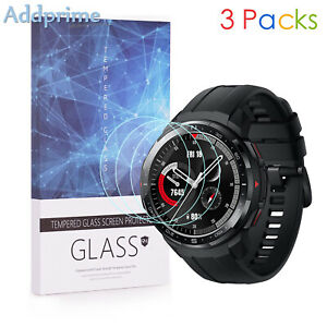 For-HONOR-Watch-GS-Pro-9H-Hardness-Tempered-Glass-Screen-Protector-3-Packs