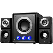 Frisby FS-2500BT Bluetooth 2.1 CH Subwoofer Speaker System w/ USB SD NEW
